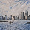 Toronto Harbor East Gap by Ian Duncan MacDonald