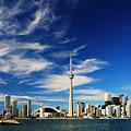 Toronto Skyline by Andriy Zolotoiy