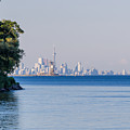Toronto Skyline In Far Distance by Les Palenik
