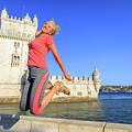 Torre De Belem Jumping by Benny Marty