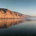 Torrey Pines Clear Skies And Sunset by William Dunigan
