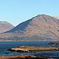 Torridon Hills In Panorama by Maria Gaellman