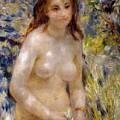 Torso Effect Of Sunlight by Pierre Auguste Renoir