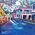 Tortola  Main Street by Andre Francis