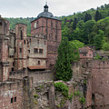 Torturm And Seltenleer Heidelberger Schloss by Teresa Mucha