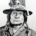 Tosawi Comanche Chief by Stan Hamilton