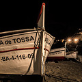 Tossa De Mar By Night by Wolfgang Stocker