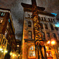 Totem In The City by Andre Faubert