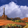 Totem Pole Monument Valley by Dominic Piperata