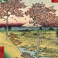Toto Meguro Yuhhigaoka - Sunset Hill Meguro In The Eastern Capitol by Utagawa Hiroshige