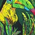 Toucan Fine Art Batik by Kay Shaffer