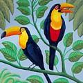 Toucans by Frederic Kohli