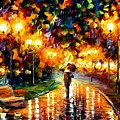 Touch Of Rain by Leonid Afremov