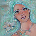 Touch Of Spring Mermaid by Renee Lavoie