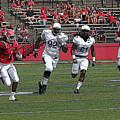 Rutgers Touchdown - Janarion Grant by Allen Beatty