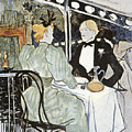 Toulouse-lautrec: Menu by Granger