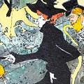 Toulouse Lautrec Tribute by Ernie  Scott-  Dust Rising Studios