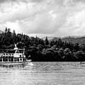 Touring The Lakes Black And White by Lance Sheridan-Peel
