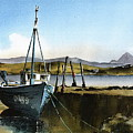 Towards Bunbeg And Errigal, Donegal by Val Byrne