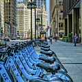 Towards Wrigley Building by Izet Kapetanovic
