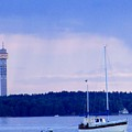 Tower And Masts by Rosita Larsson