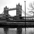 Tower Bridge In November by Jodi Meier