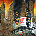 Tower Ladder 44-south Bronx by Paul Walsh