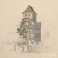 Tower Of A Fortified House [recto] by Friedrich Salath?