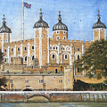 Tower Of London by Carol Williams