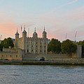 Tower Of London On The Thames by Two Small Potatoes