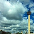 Tower Of The Americas Scene by Rancher's Eye Photography