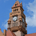 Tower Of The Decatur Courthouse  by Ruth  Housley