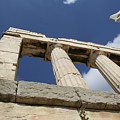 Towering Grecian Pillars by Mary Kay Bellinger