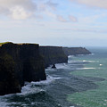 Towering Sea Cliffs In Ireland's County Clare by DejaVu Designs