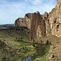 Towering Smith Rocks by Brian Eberly
