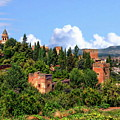 Towers Of The Alhambra by Anthony Dezenzio