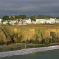 Town At The Seaside, Mendocino by Panoramic Images