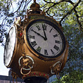 Town Clock by Skip Willits