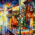 Town From The Dream by Leonid Afremov