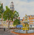 Town Hall Square Leicester by Tony Williams