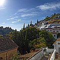 Town In A Valley, Sacromonte, Granada by Panoramic Images