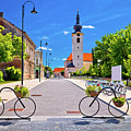 Town Of Bicycles Koprivnica Street View by Brch Photography