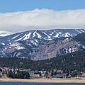 Town Of Nederland Colorado And Eldora Ski Slopes by James BO Insogna