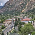 Town Of Ouray by Linda Weyers