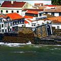 Town Of Porto Pim by Anthony Dezenzio
