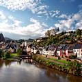 Town Of Saarburg by Anthony Dezenzio