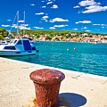 Town Of Tisno Harbor And Waterfront by Brch Photography