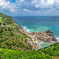 Town Of Vernazza, Cinque Terre, Italy by JR Photography