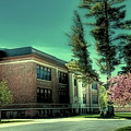Town Of Webb Schools - Postcard by David Patterson