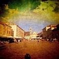 Town Square #edit - #hvar, #croatia by Alan Khalfin